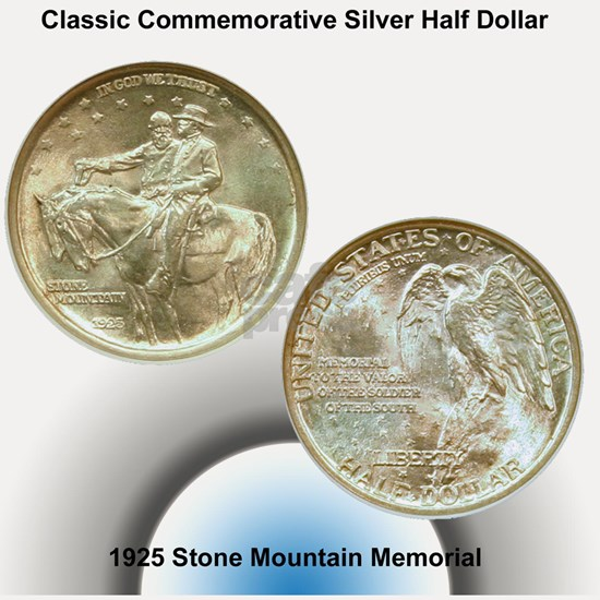 Stone Mountain Memorial Half Dollar Coin