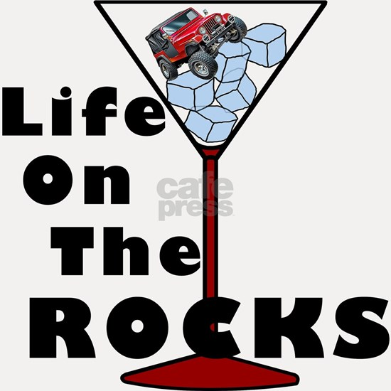 On Rocks Martini BLACK