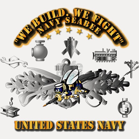 Navy - Seabee - Badge
