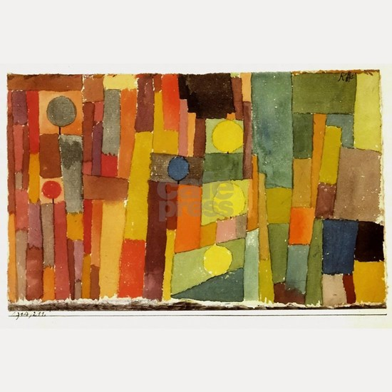 Paul Klee In The Style Of Kairouan