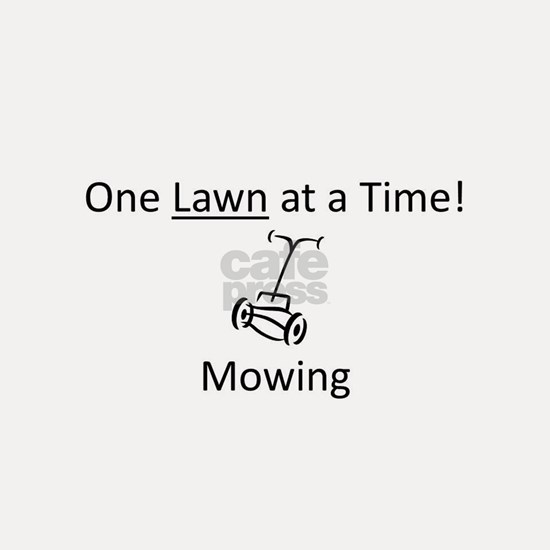 Mowing-One Lawn at a Time!