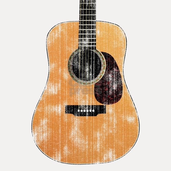 Acoustic Guitar (worn)