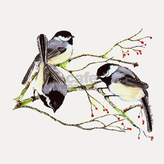 Chickadee gathering