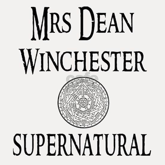 Supernatural Mrs Dean Winchester