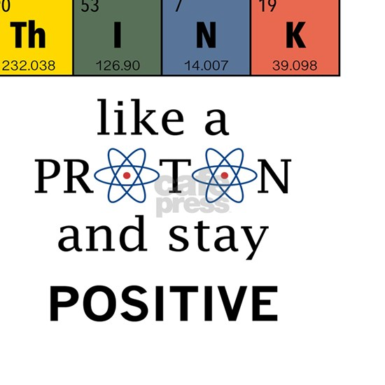 Think like a proton. Physics and chemistry shirts