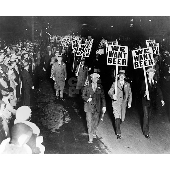 We Want Beer! Prohibition Protest, 1931