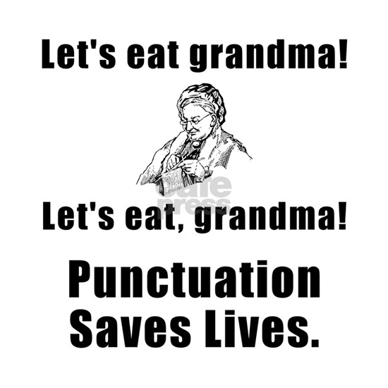 Punctuation Saves Lives Black