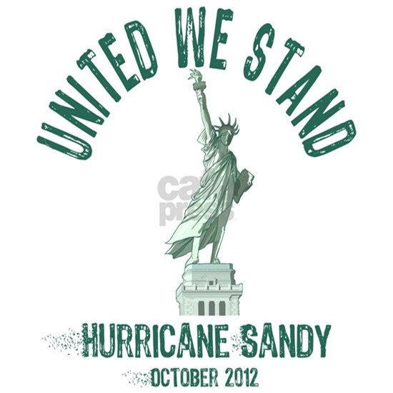 Hurricane Sandy Statue
