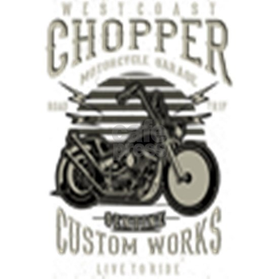 Chopper Motorcycle Garage
