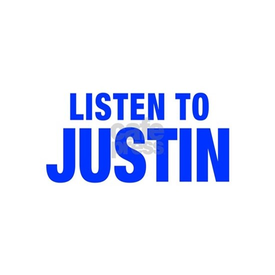 LISTEN TO JUSTIN-Hel blue 400