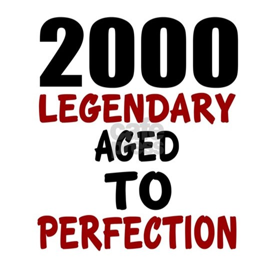 2000 Legendary Aged To Perfection