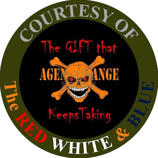 Agent Orange - Skull and Crossed Bones