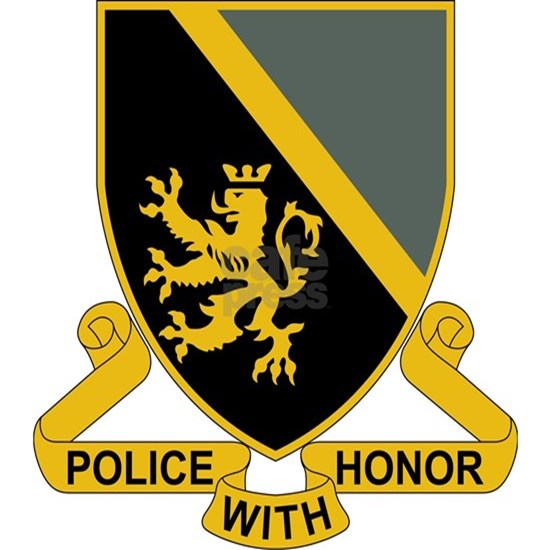 382nd Military Police Battalion - Police With Hono