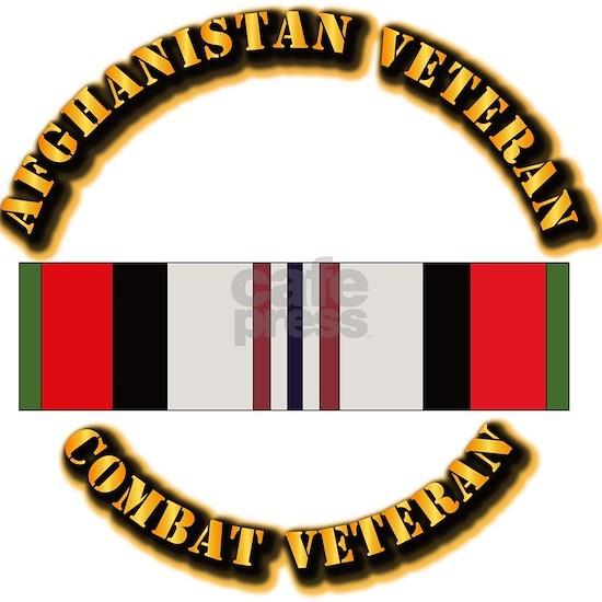 T-Shirt - Army - Afghanistan Vet - ACM