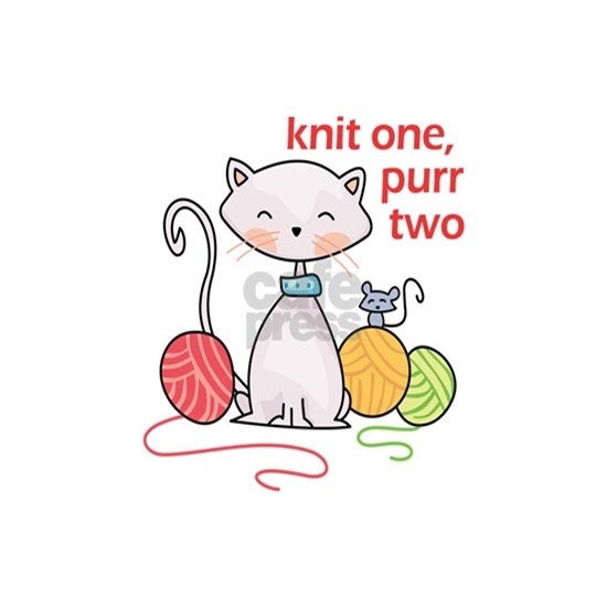 KNIT ONE PURR TWO