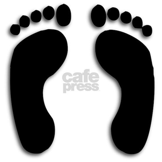 Bare foot Prints