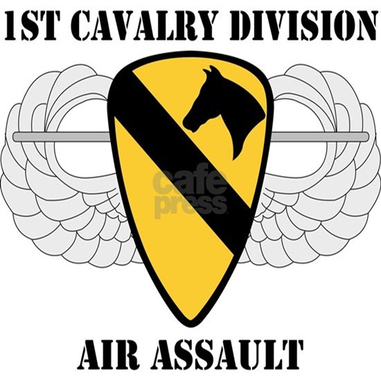 1st Cavalry Division Air Assault - W/Text