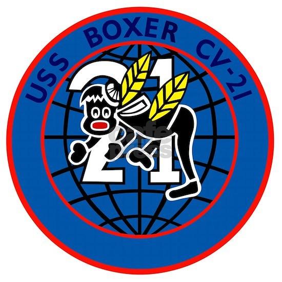 CV-21 USS BOXER Multi-Purpose Aircraft Carrier Mi