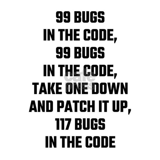 99 Bugs In The Code
