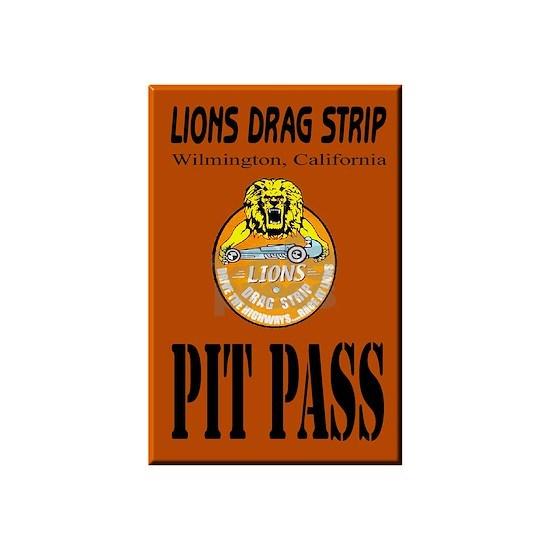 Lions Drag Strip Pit Pass