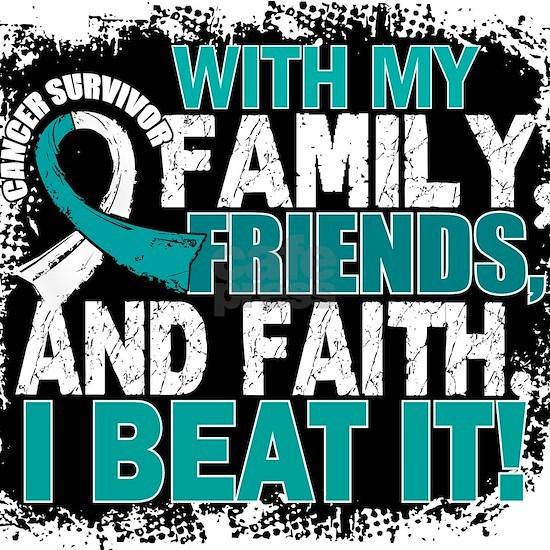- Cervical Cancer Survivor Family Friends Faith