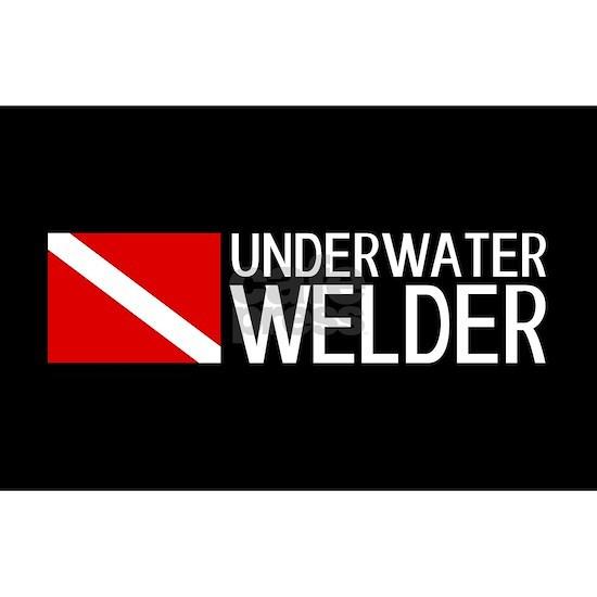 Welding: Underwater Welder & Diving Flag