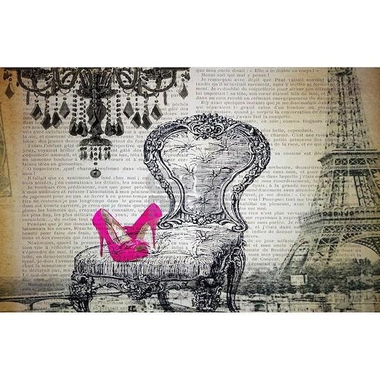french rococo vintage paris
