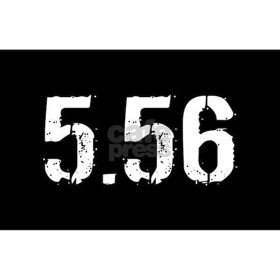 5.56 Ammo: Black