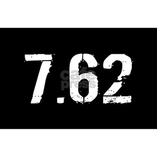 7.62 Ammo: Black & White