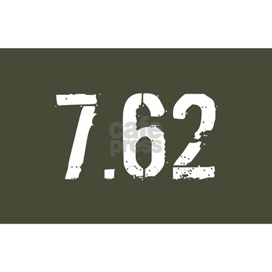 7.62 Ammo: Military Green