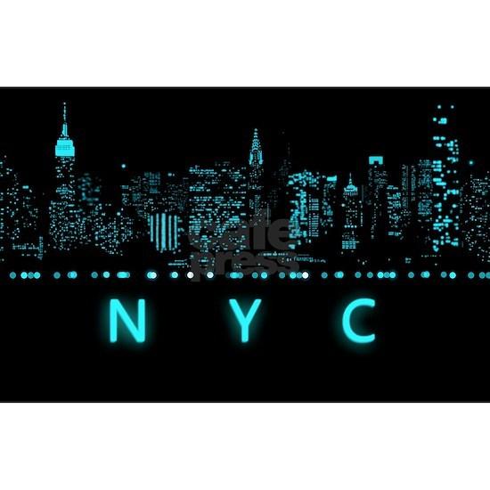 Digital Cityscape: New York City, New York