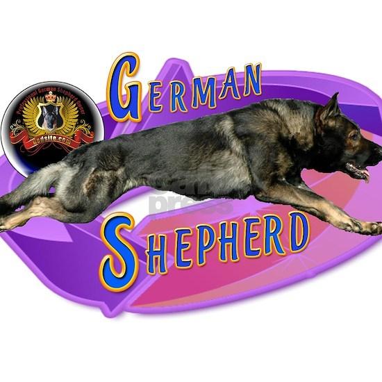 Fearless German Shepherd