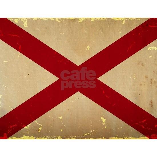 Alabama State Flag VINTAGE