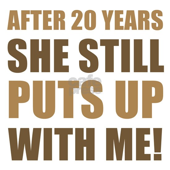 20th Anniversary Humor For Men