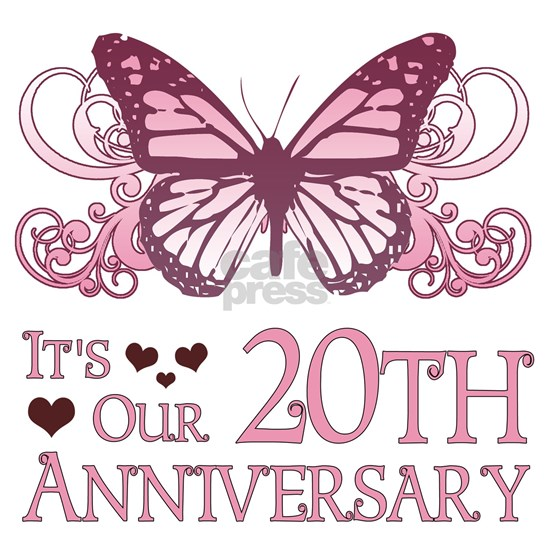 20th Wedding Aniversary (Butterfly)