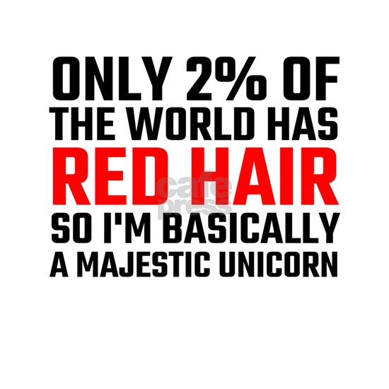 Only 2 Percent Of The World Has Red Hair
