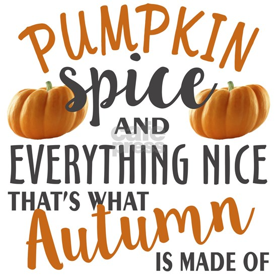 Pumpkin Spice and Everything Nice, That's What