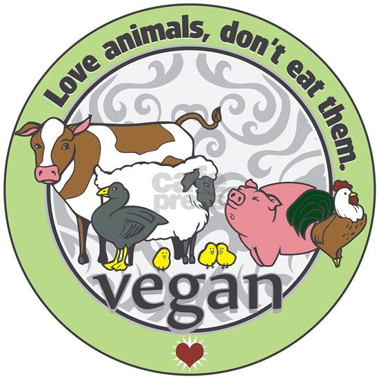 Love Animals Dont Eat Them Vegan