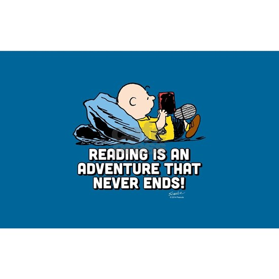 Charlie Brown - Reading is an Adventure FB