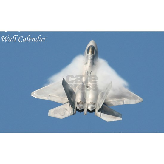 F22 Angel Wings Calendar Cover