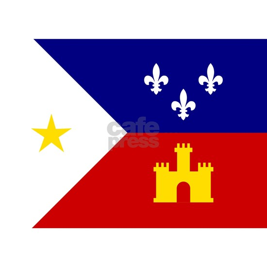 Flag of Acadiana Louisiana