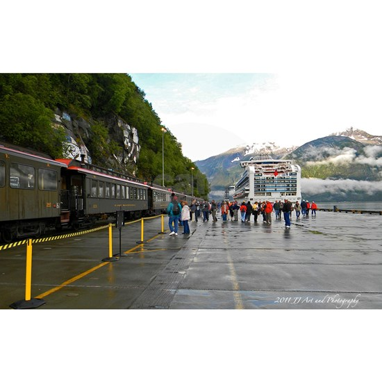 Railway and Cruise Ship