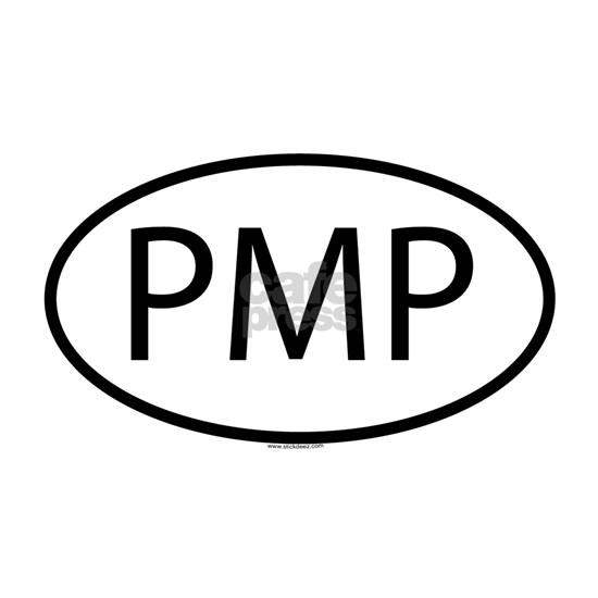 PMP_Oval White