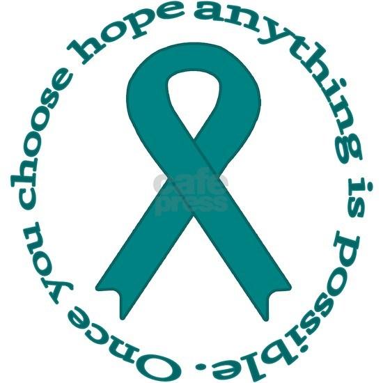 teal hope ribbon