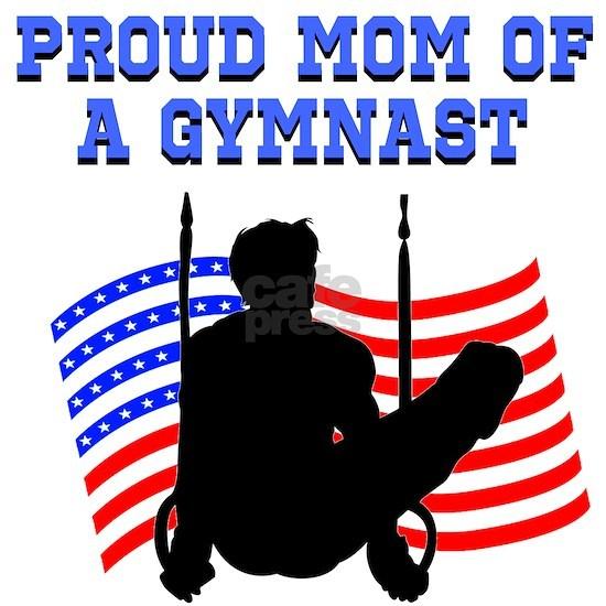 PROUD GYMNAST MOM