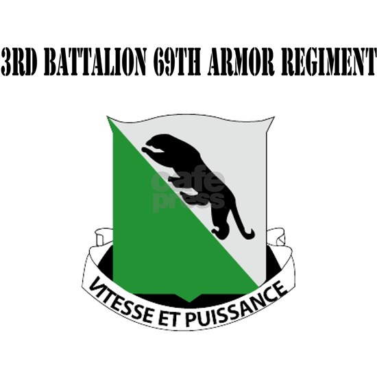 3rd Battalion 69th Armor Regiment with Text