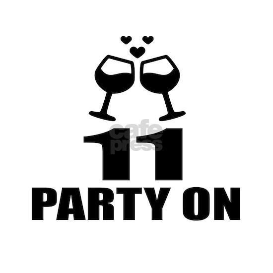 11 Party On Birthday