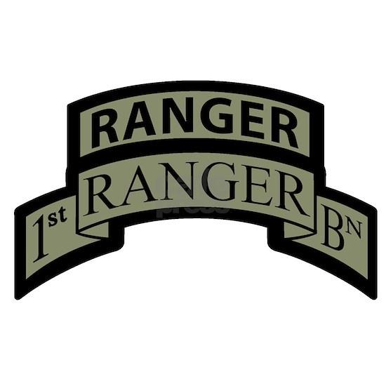 1st Ranger BN Scroll ACU with ACU Ranger Ta