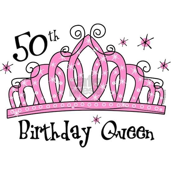 Tiara 50th Birthday Queen