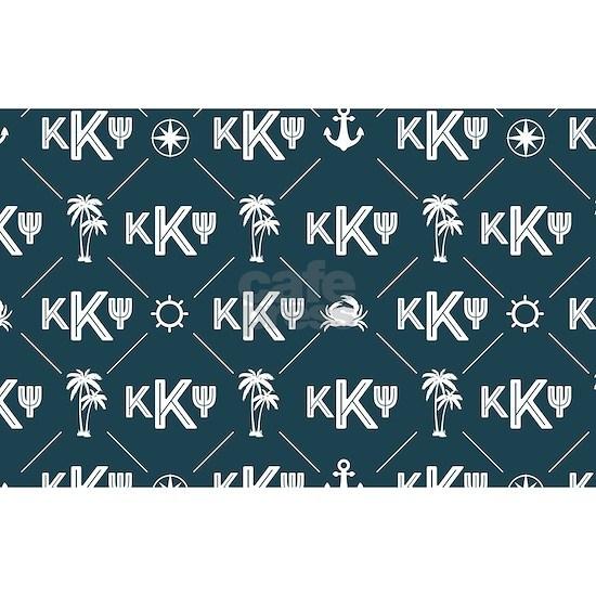 KKP Blue Pattern